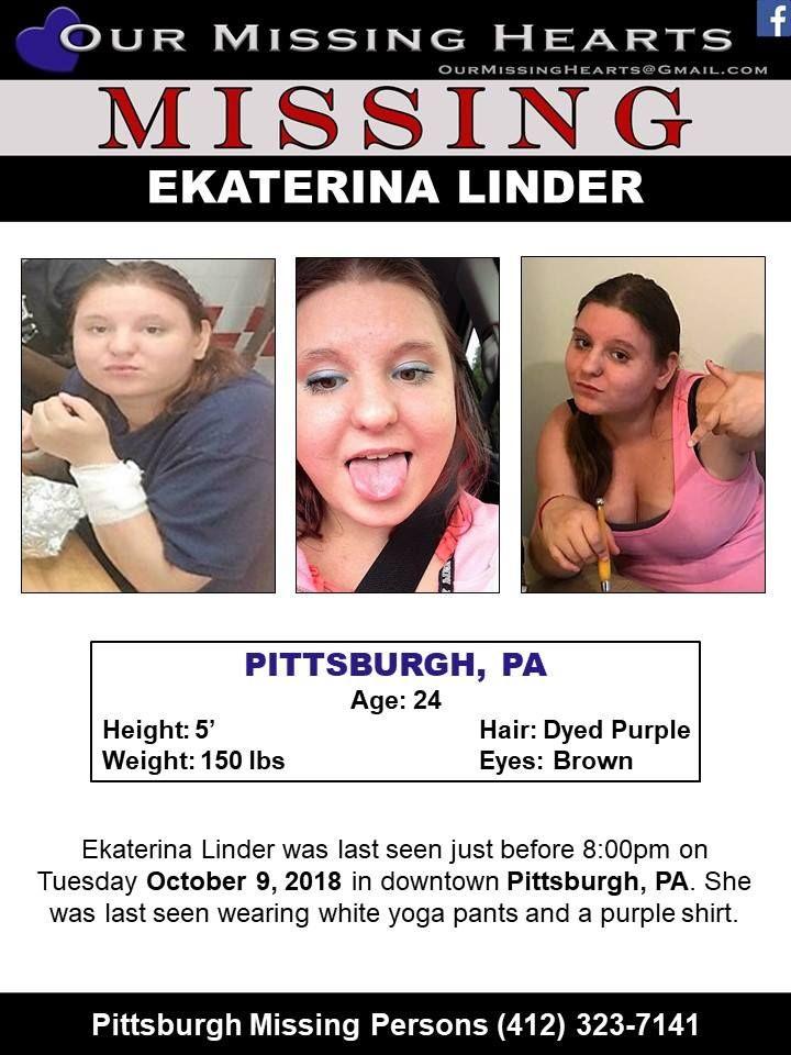 Find Missing Ekaterina Linder! ***(UNCONFIRMED UPDATE)*** | Missing