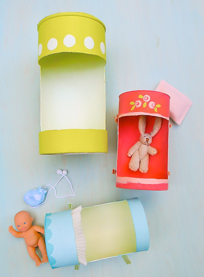 DIY Recycled Doll Cradle Craft for Kids