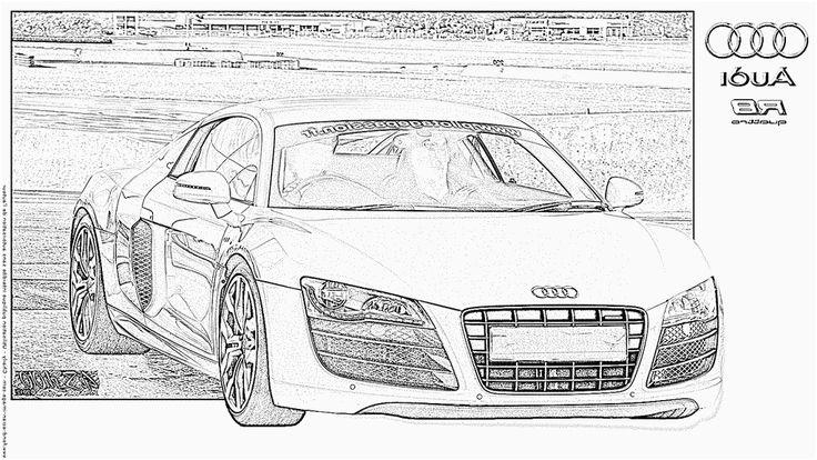 12 Réaliste Coloriage Voiture Audi Pics (avec images ...