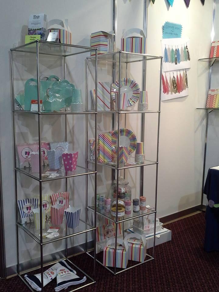 Showcasing the beautiful Sundays partyware range at the Autumn Gift Fair