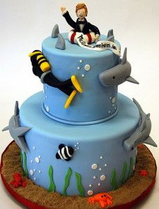 16 Curated Diving Snorkeling Cake Ideas By Lulucattucci