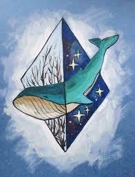нарисованный кит - Поиск в Google