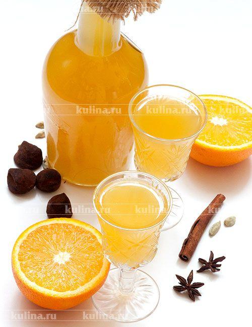 Ликер апельсиновый - рецепт с фото