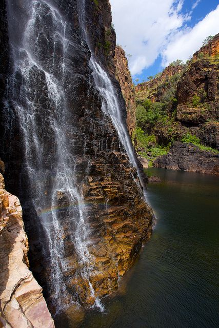 Twin Falls, Kakadu National Park, Nyirranggulung Mardrulk Ngadberre, in the Northern Territory, Australia.  by BRJ Inc.