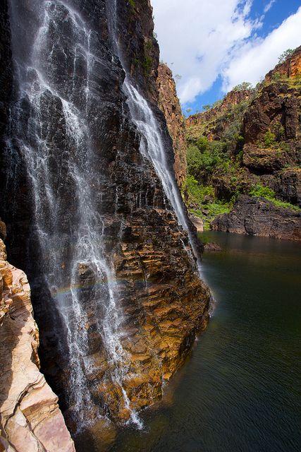 Twin Falls, Kakadu National Park, Nyirranggulung Mardrulk Ngadberre, in the Northern Territory, Australia.  by BRJ Inc.