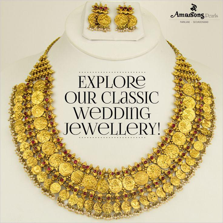 Classic wedding jewelry!