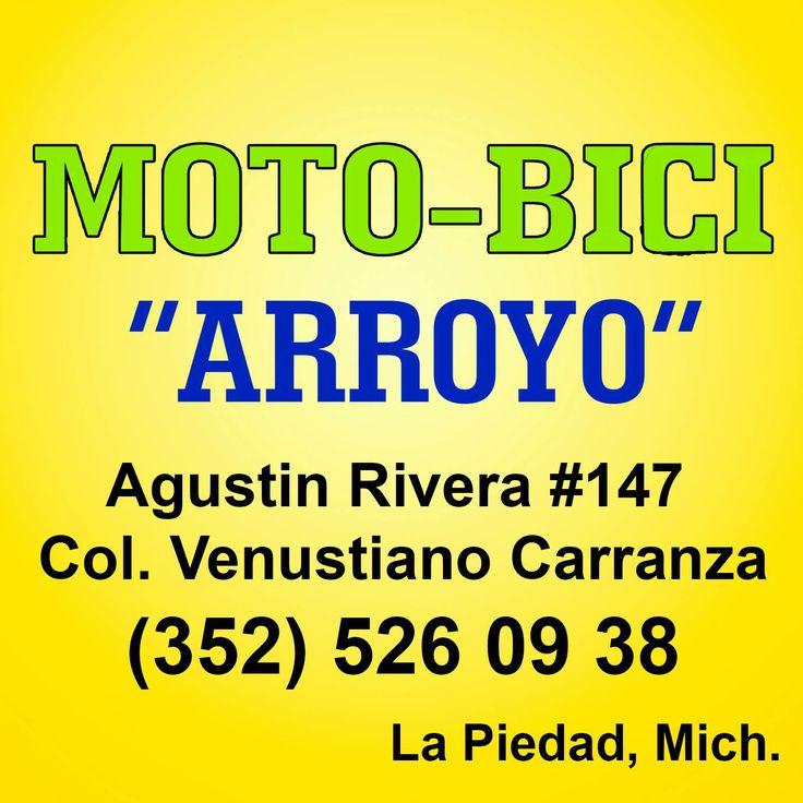 """Moto-Bici """"Arroyo"""", compra y venta de refacciones para motocicleta y bicicleta, te ofrece casco tipo nazi marca CPA de $250 a $190 y llanta 26 de $150 a $70. :D  Agustín Rivera #147 esq. Heriberto Jara  Tel. 352 526 0938  La Piedad, Mich."""