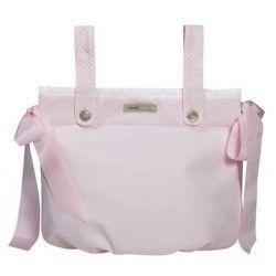 Bolsa Panera Bombón Rosa #Bolso #Maternidad
