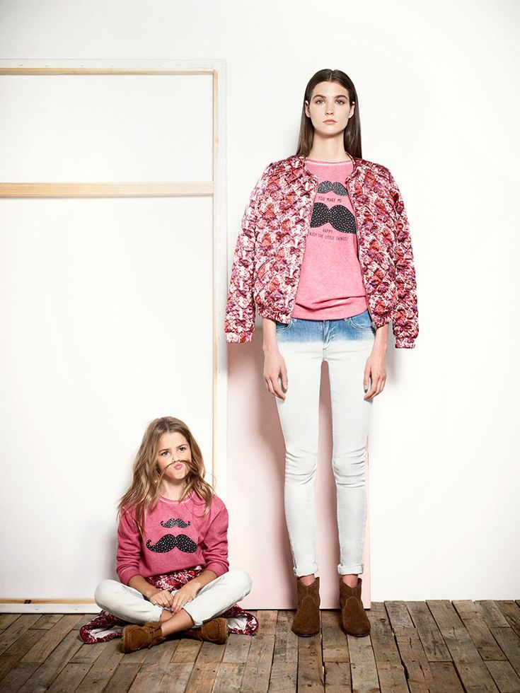 mini me collection from mango aw1314 lookbook  mommy