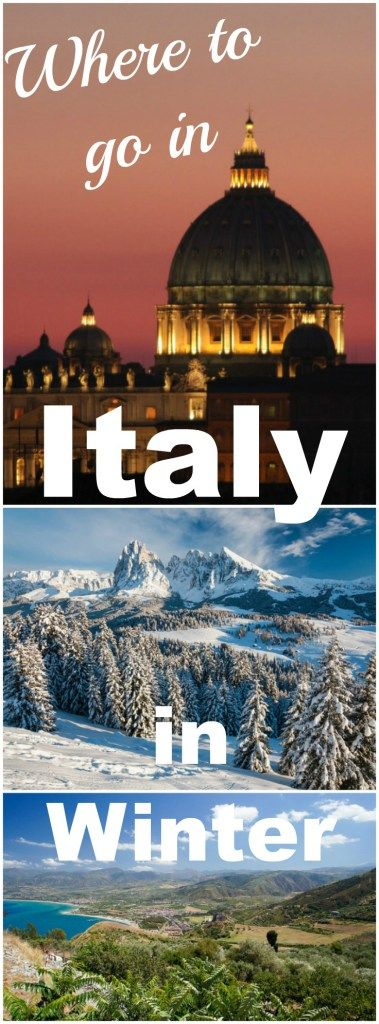 Italy isn't just a summer destination, there is plenty to do all year round. Here are my picks for where to go in Italy in winter, from skiing in the Dolomites to winter sun in Sicily, Christmas in Turin or Rome, and peaceful Venice.