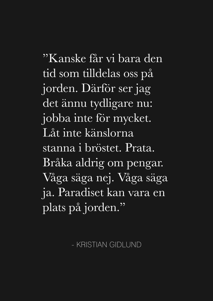 <3 Kristian Gidlund