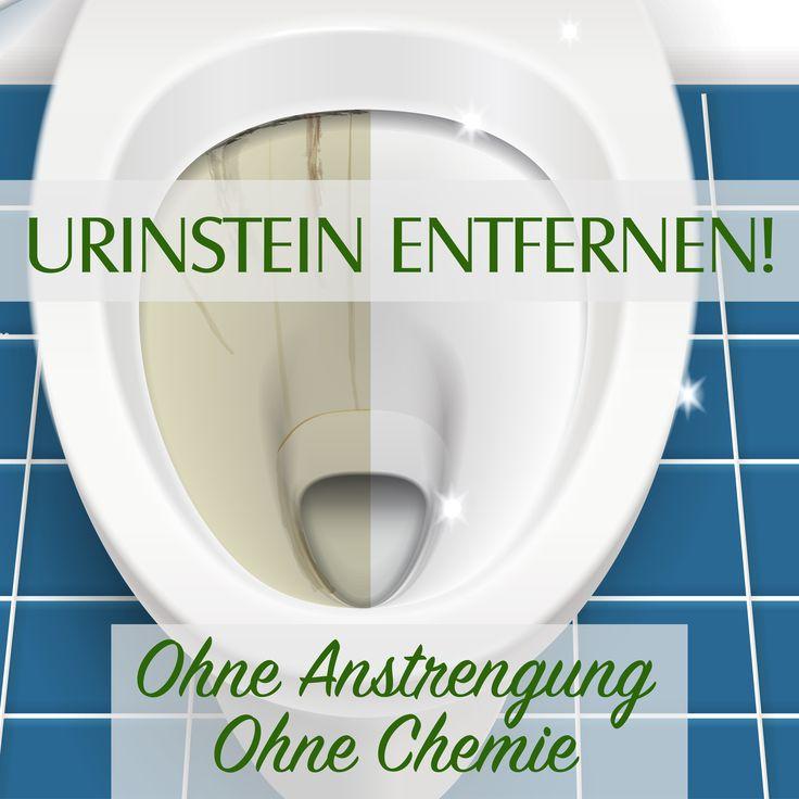 Urinstein entfernen!! Ohne Anstrengung! Ohne Chemie!
