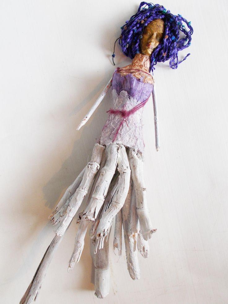 handmade doll wooden sticks by mademeathens #dolls