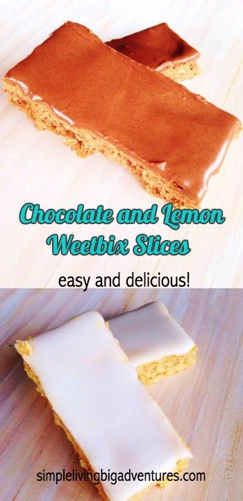 Delicious slices made from weetbix - too easy!