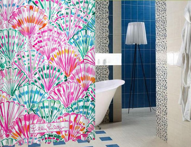 """New Lilly pulitzer shell Design High Quality Custom Shower Curtain 60"""" x 72"""" #Unbranded #Modern #BestQuality #Cheap #Rare #New #Latest #Best #Seller #BestSelling #Cover #Accessories #Protector #Hot #BestSeller #2017 #Trending #Luxe #Fashion #Love #ShowerCurtain #Luxury #LimitedEdition #Bathroom #Cute #ShowerCurtain #CurtainGift"""