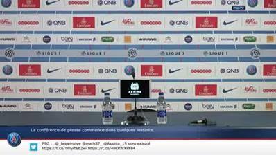 Press Conference Girondins de Bordeaux - Paris Saint-Germain