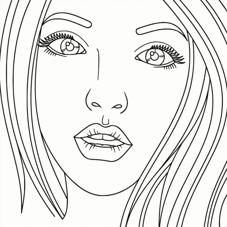 Recolor | Coloring book art, People coloring pages, Adult ...