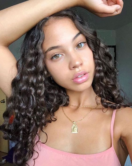 100% Human Brazilian Hair 360 Lace Front Wigs Natural Deep Curly ZY-30