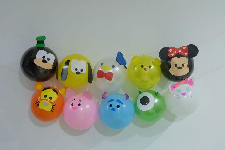 Tsum Tsum Birthday balloons