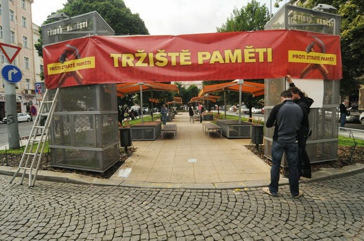 Había una plaza - Tylovo náměstí, donde había mercados