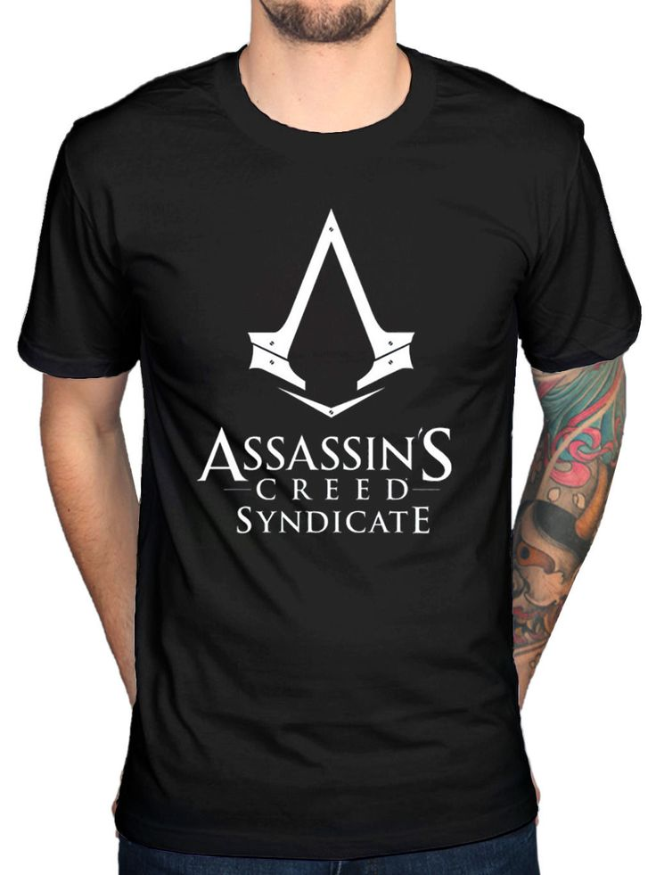 >> Click to Buy << Official Mens Assassins Creed Syndicate Logo T-Shirt Pirates Rogue Identity Game T Shirt Hot Topic Men Short Sleeve Top Tee #Affiliate