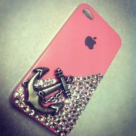 Silver Anchor IPhone 4 Case on Etsy!! Omg neeeeedddddd this