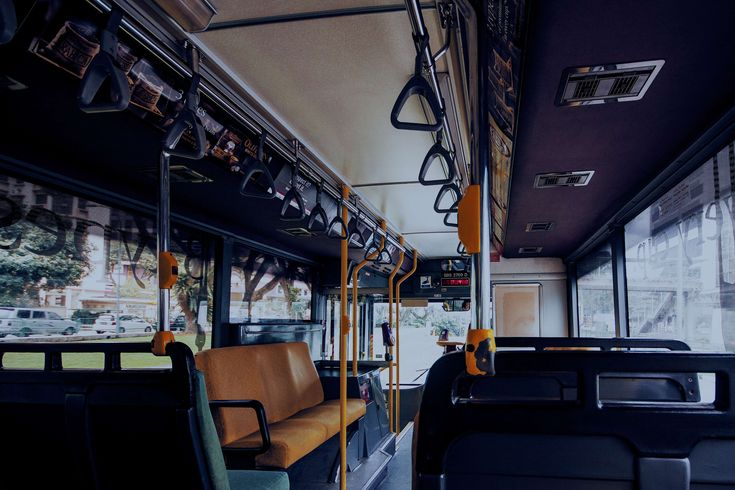 #bus #cold #empty #moody #public transportation #singapore #yellow