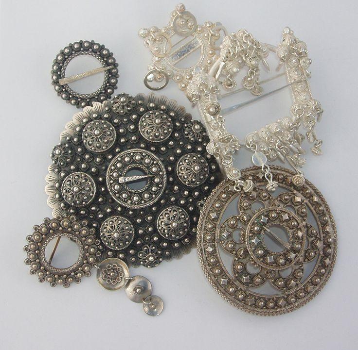 """BUNAD"" jewelry (bunad = norwegian national costume)"