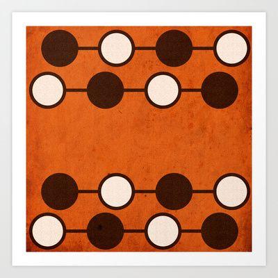Symbols: Take Time Art Print by Sonia Marazia - $15.60