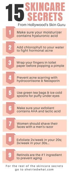You MUST read these! Secrets on how to get rid of hormonal acne, oily skin, anti-aging, how to pick the right skin care products and so many more!