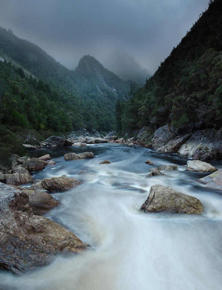 Where my brother hangs out- Franklin River. Tasmania Photography: Wolfgang Glowaski