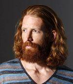 lang haar met baard #man