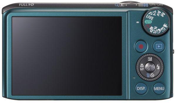 Cámara semiprofesional Canon SX240 (Trasera)