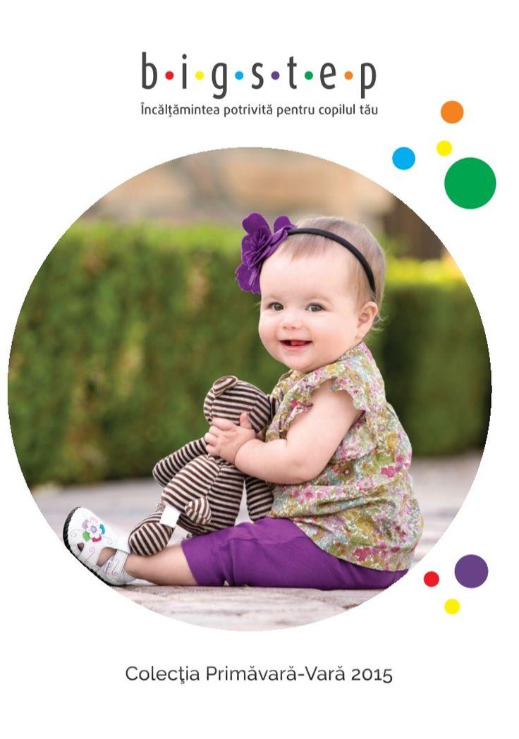 Catalog bigstep Incaltaminte pentru Copii in sezonul de Primavara-Vara 2015! Colectia se adreseaza copiilor, fete si baieti, bebelusi pana la adolescenti.