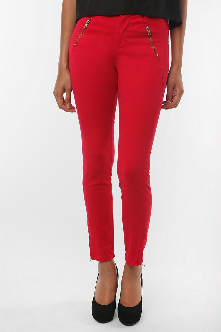 I'm trying to rock red pants for Fall