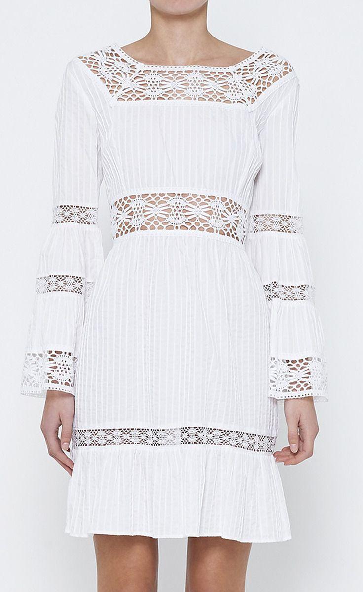 Michael Kors White Dress I love white clothing white fashion scarves for spring/summer wear.