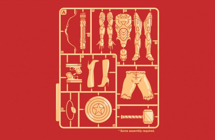 Some Assembly Required - BustedTees