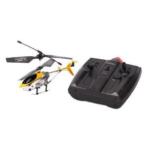 2.5 Channel Remote Control Helicopter Yellow&White by Crazy Cart. $17.85. Features: 1.It is very easy to control 2.A fantastic gift for your kid 3.It will bring your kid lots of fun 4.Beautiful and classic toy 5.It will be a good companion of your kid 6.It will give your kid unforgettable memory on special days 7.Suitable for children of 14 years old&;up 8.Hovering up and down,Turn left and right  Specifications: 1.Model: 2010-1 2.Channel: 2.5 3.Control Mode: Infra-Red Remote ...