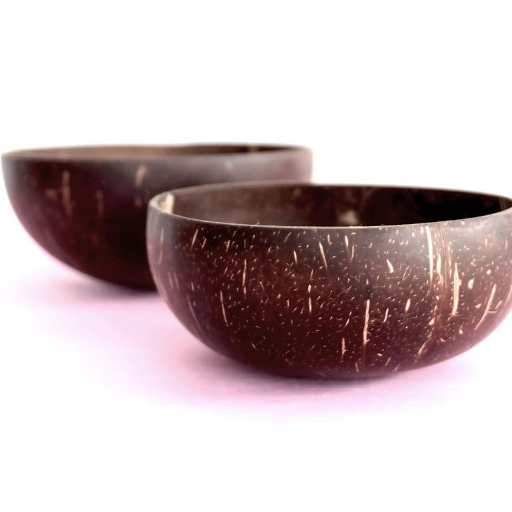 Our coconut bowls are safe for food and water and you will be happy to know that our bowls are 100% natural product and have no artificial plastics, lacquers or glues.   In addition to being 100% natural, our bowls are hand cut and polished using ethical practices. The end product is a uniquely natural, handmade coconut shell bowl. No coconut bowl is the same, each bowl with its unique size, shape, colour and texture.