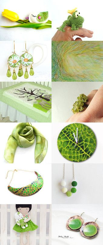 Spring freshness by Marianna on Etsy--Pinned+with+TreasuryPin.com