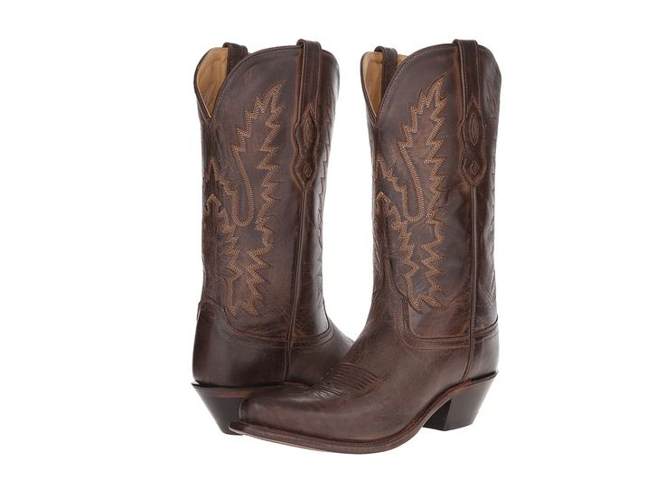 Old West Boots LF1534 Cowboy Boots Brown Canyon