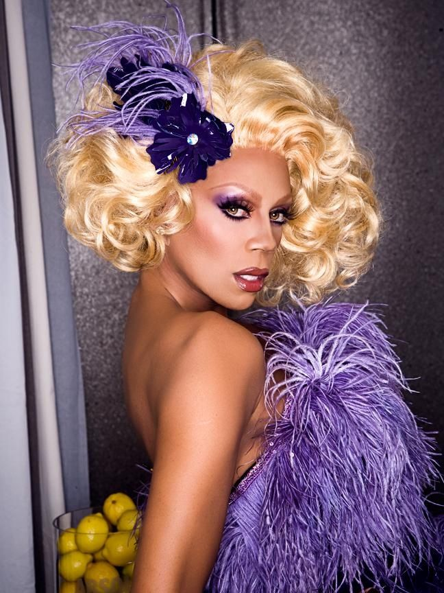 Rupaul, Gorgeous, talented, and I think someone who's paved the way for so many with her show Drag Race. LOVE LOVE LOVE!