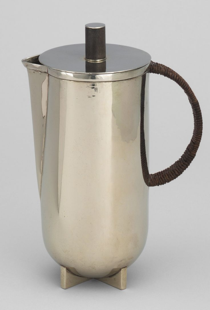 Bauhaus pendant lamp marianne brandt and hans przyrembel 1925 - Marianne Brandt Hot Water Jug 1924 Bauhaus Metal Workshop Germany
