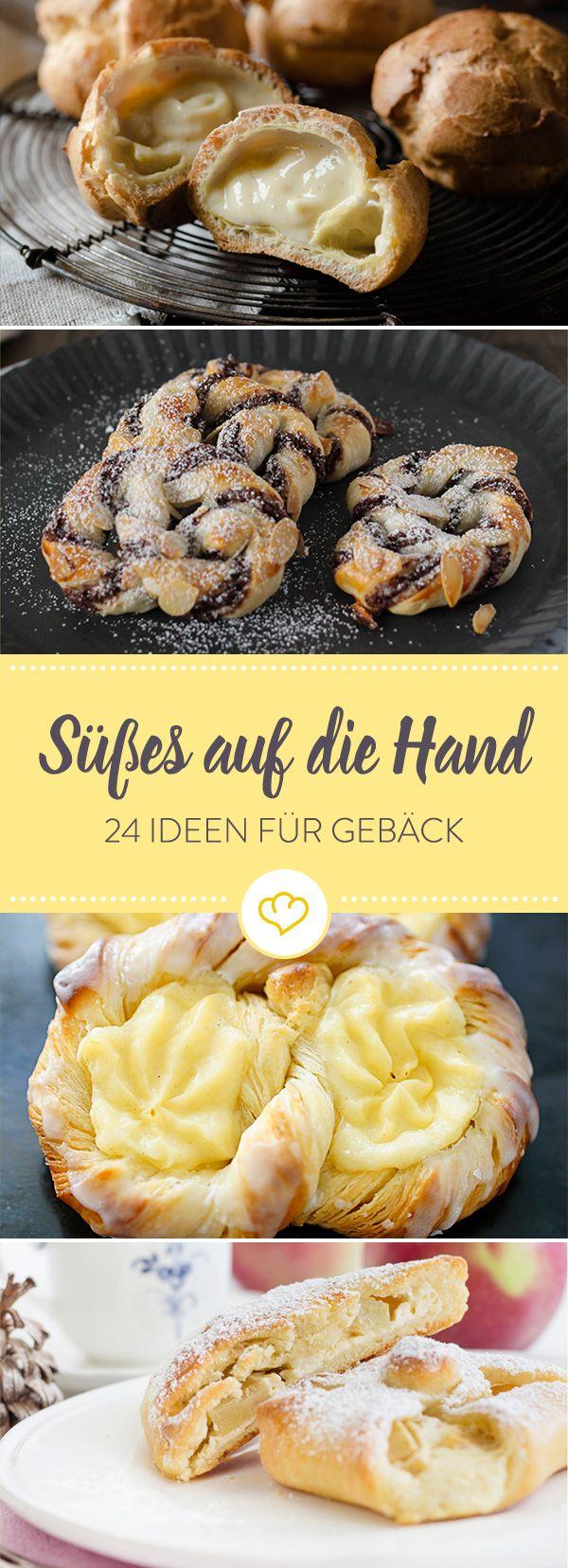 Wenn der nächste Süßhunger kommt, stehen diese 24 Gebäckideen schon auf dem Tisch. Ofenwarm und auf Vorrat für die ganze Woche.