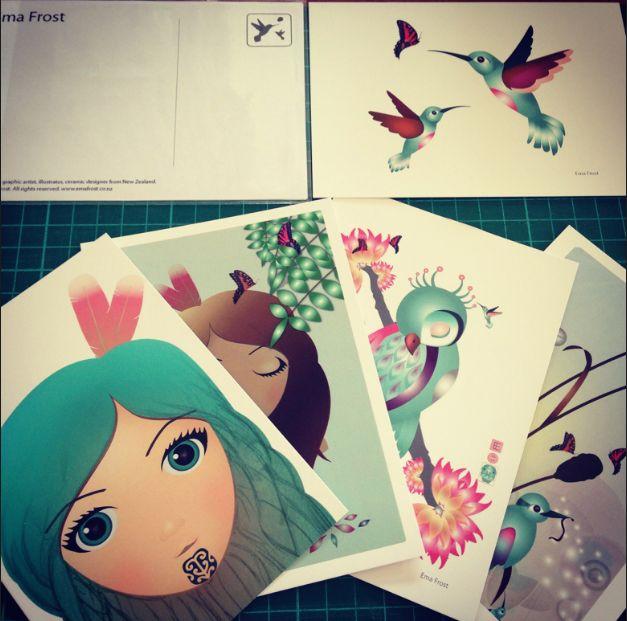 Ema Frost- Postcard Set from KAPA