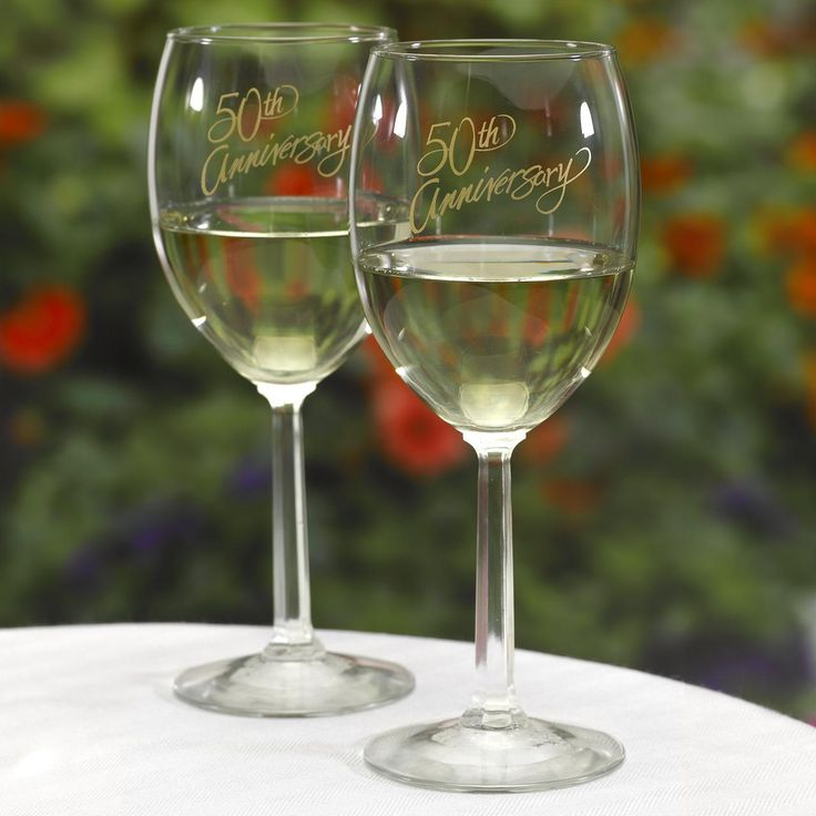 17 best images about wedding anniversary items on for Thin stem wine glasses
