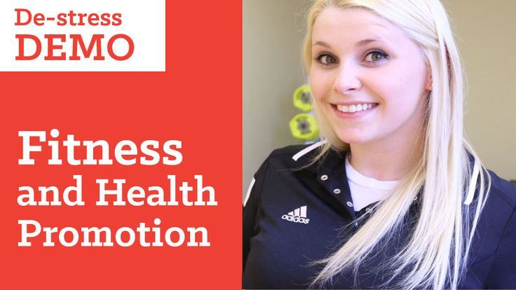 De-stress with Fitness and Health Promotion at Sault College. http://www.saultcollege.ca/ads/health/destress.html#utm_sguid=167290,97be4fb2-8b6d-d590-fbd7-f7ec08acda18 @SaultCollege