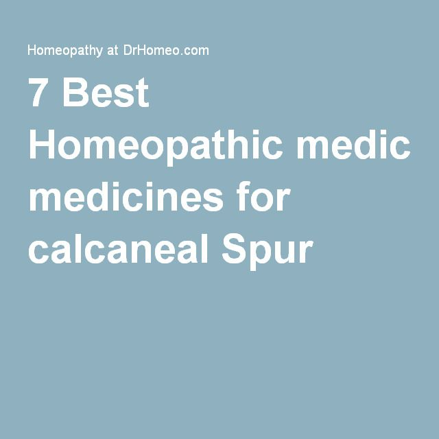 7 Best Homeopathic medicines for calcaneal Spur