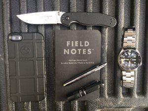 Everyday Carry - 48/M/Canada/Long Haul Truck Driver - Tailgate EDC