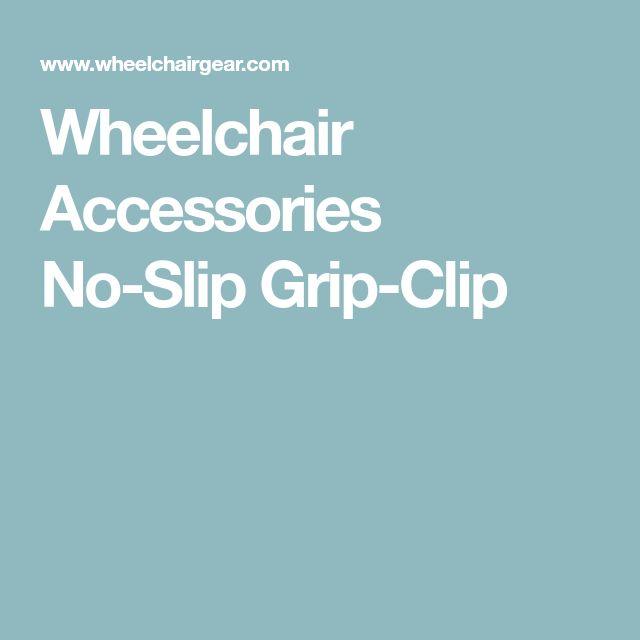 Wheelchair Accessories No-Slip Grip-Clip